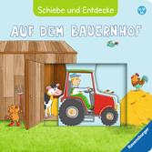 Schiebe und Entdecke: Auf dem Bauernhof Baby und Kleinkind;Bücher - Ravensburger