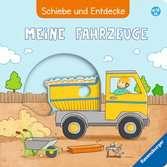Schiebe und Entdecke: Meine Fahrzeuge Baby und Kleinkind;Bücher - Ravensburger