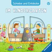 Schiebe und Entdecke: Im Kindergarten Baby und Kleinkind;Bücher - Ravensburger