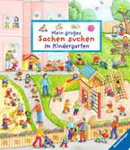 Mein großes Sachen suchen: Im Kindergarten Kinderbücher;Babybücher und Pappbilderbücher - Ravensburger
