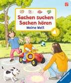 Sachen suchen, Sachen hören: Meine Welt Kinderbücher;Babybücher und Pappbilderbücher - Ravensburger