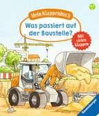 Mein Klappenbuch: Was passiert auf der Baustelle? Baby und Kleinkind;Bücher - Ravensburger