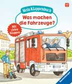 My Lift-the-flap Book: What Do Vehicles Do?