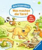 My Lift-the-flap Book: What Do Animals Do?