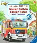 Sachen suchen, Sachen hören: Meine Fahrzeuge Kinderbücher;Babybücher und Pappbilderbücher - Ravensburger