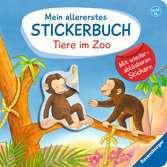 Mein allererstes Stickerbuch: Tiere im Zoo Kinderbücher;Babybücher und Pappbilderbücher - Ravensburger