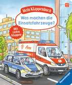 Mein Klappenbuch: Was machen die Einsatzfahrzeuge? Kinderbücher;Babybücher und Pappbilderbücher - Ravensburger