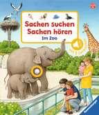 Sachen suchen, Sachen hören: Im Zoo Baby und Kleinkind;Bücher - Ravensburger
