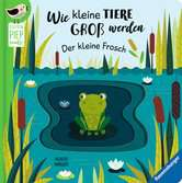Wie kleine Tiere groß werden: Der kleine Frosch Kinderbücher;Babybücher und Pappbilderbücher - Ravensburger