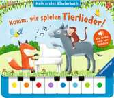 Komm, wir spielen Tierlieder! Mein erstes Klavierbuch Kinderbücher;Babybücher und Pappbilderbücher - Ravensburger