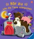Hör zu, wie die Tiere schnarchen! Kinderbücher;Babybücher und Pappbilderbücher - Ravensburger