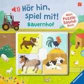 Hör hin, spiel mit! Mein Puzzle-Soundbuch: Bauernhof Baby und Kleinkind;Bücher - Ravensburger