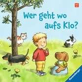 Wer geht wo aufs Klo? Kinderbücher;Babybücher und Pappbilderbücher - Ravensburger