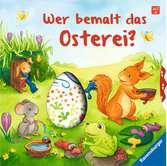 Wer bemalt das Osterei? Kinderbücher;Babybücher und Pappbilderbücher - Ravensburger