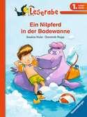 Leserabe: Ein Nilpferd in der Badewanne Bücher;e-books - Ravensburger
