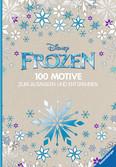 Disney Frozen - 100 Motive zum Ausmalen und Entspannen Malen und Basteln;Bastel- und Malbücher - Ravensburger