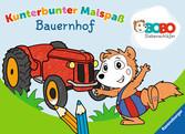 Bobo Siebenschläfer: Kunterbunter Malspaß Bauernhof Malen und Basteln;Bastel- und Malbücher - Ravensburger