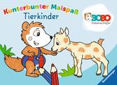 Bobo Siebenschläfer: Kunterbunter Malspaß Tierkinder Malen und Basteln;Bastel- und Malbücher - Ravensburger
