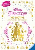Disney kreativ: Disney Prinzessin - 100 Motive zum Ausmalen und Entspannen Kinderbücher;Malbücher und Bastelbücher - Ravensburger