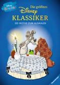 Disney kreativ: Die größten Disney Klassiker -  100 Motive zum Ausmalen Malen und Basteln;Bastel- und Malbücher - Ravensburger