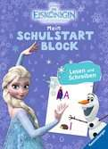 Disney Die Eiskönigin Mein Schulstartblock: Lesen und Schreiben Lernen und Fördern;Lernbücher - Ravensburger