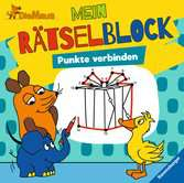 Die Maus Mein Rätselblock Punkte verbinden Kinderbücher;Malbücher und Bastelbücher - Ravensburger