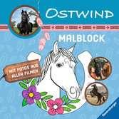 Ostwind: Malblock Kinderbücher;Malbücher und Bastelbücher - Ravensburger