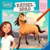Dreamworks Spirit Wild und Frei: Rätselspaß Kinderbücher;Malbücher und Bastelbücher - Ravensburger