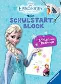 Disney Die Eiskönigin Mein Schulstartblock: Zählen und Rechnen Lernen und Fördern;Lernbücher - Ravensburger