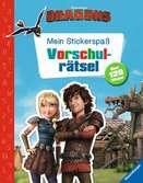 Mein Stickerspaß Dreamworks Dragons: Vorschulrätsel Kinderbücher;Malbücher und Bastelbücher - Ravensburger