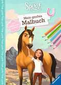 Dreamworks Spirit Wild und Frei: Mein großes Malbuch Malen und Basteln;Bastel- und Malbücher - Ravensburger