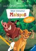 Disney Der König der Löwen: Mein Vorschulmalspaß. Tolle Schwungübungen Lernen und Fördern;Lernbücher - Ravensburger