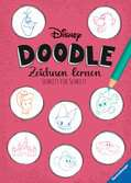 Disney Doodle - zeichnen lernen: Schritt für Schritt Lernen und Fördern;Lernbücher - Ravensburger