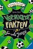 Verrückte Fakten für coole Jungs. Fu?ball-Edition Kinderbücher;Kinderliteratur - Ravensburger