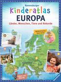 Ravensburger Kinderatlas Europa Bücher;Kindersachbücher - Ravensburger