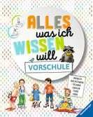 Alles was ich wissen will Vorschule Kinderbücher;Kindersachbücher - Ravensburger