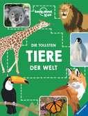 Die tollsten Tiere der Welt Kinderbücher;Kindersachbücher - Ravensburger