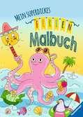Mein superdickes Ferienmalbuch Malen und Basteln;Bastel- und Malbücher - Ravensburger