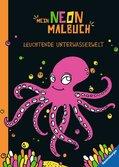Mein Neon-Malbuch: Leuchtende Unterwasserwelt Malen und Basteln;Bastel- und Malbücher - Ravensburger