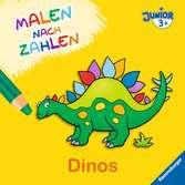 Malen nach Zahlen junior: Dinos Kinderbücher;Malbücher und Bastelbücher - Ravensburger