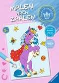 Malen nach Zahlen: Pony-Prinzessin Malen und Basteln;Bastel- und Malbücher - Ravensburger