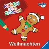 Malen nach Zahlen junior: Weihnachten Malen und Basteln;Bastel- und Malbücher - Ravensburger