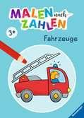Malen nach Zahlen ab 3 Jahren: Fahrzeuge Malen und Basteln;Malen nach Zahlen - Ravensburger