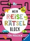 Mein Reise-Rätselblock für Mädchen Kinderbücher;Lernbücher und Rätselbücher - Ravensburger