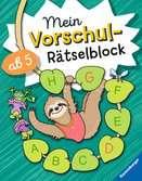 Mein Vorschul-Rätselblock Kinderbücher;Lernbücher und Rätselbücher - Ravensburger