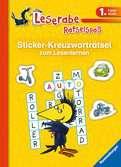 Sticker-Kreuzworträtsel zum Lesenlernen (1. Lesestufe) Kinderbücher;Lernbücher und Rätselbücher - Ravensburger