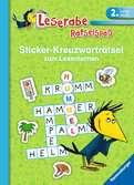 Sticker-Kreuzworträtsel zum Lesenlernen (2. Lesestufe), grün Kinderbücher;Lernbücher und Rätselbücher - Ravensburger