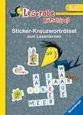 Sticker-Kreuzworträtsel zum Lesenlernen (3. Lesestufe) Kinderbücher;Lernbücher und Rätselbücher - Ravensburger