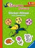 Sticker-Rätsel zum Lesenlernen (1. Lesestufe), grün Kinderbücher;Lernbücher und Rätselbücher - Ravensburger
