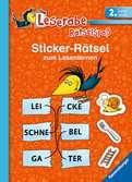 Sticker-Rätsel zum Lesenlernen (2. Lesestufe) Kinderbücher;Lernbücher und Rätselbücher - Ravensburger